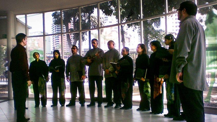 #11Ene El Grupo Vocal Quibure despide la navidad este domingo https://...