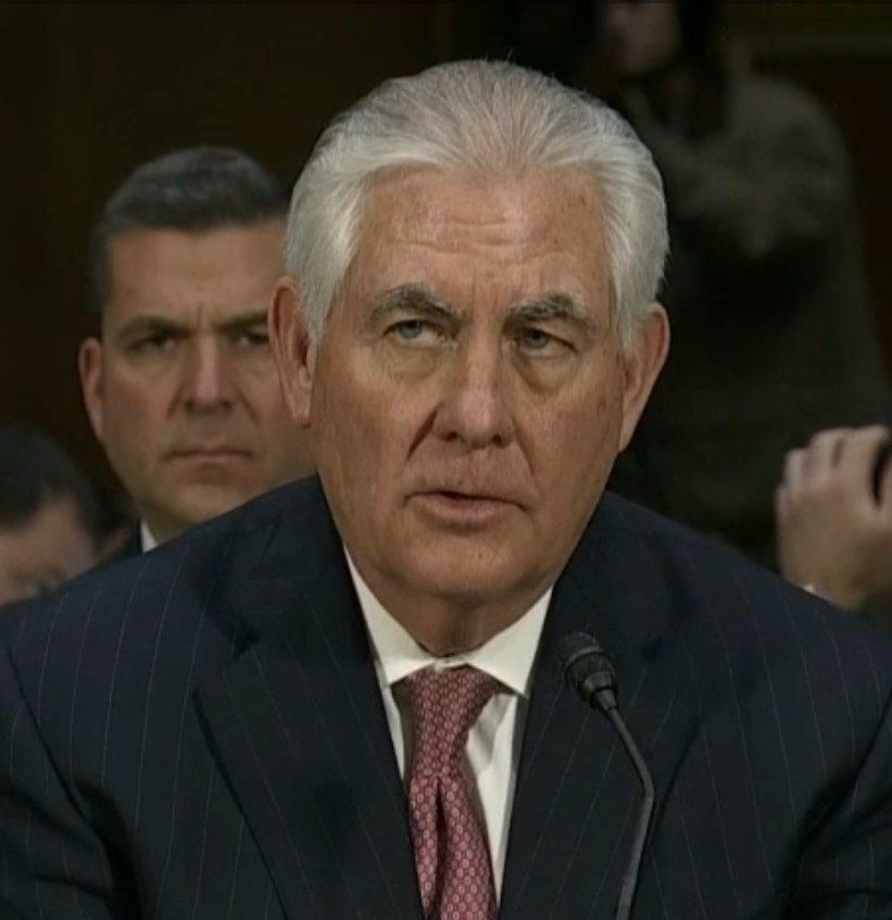China has serious human rights violations, says Rex Tillerson at his confirmation hearing