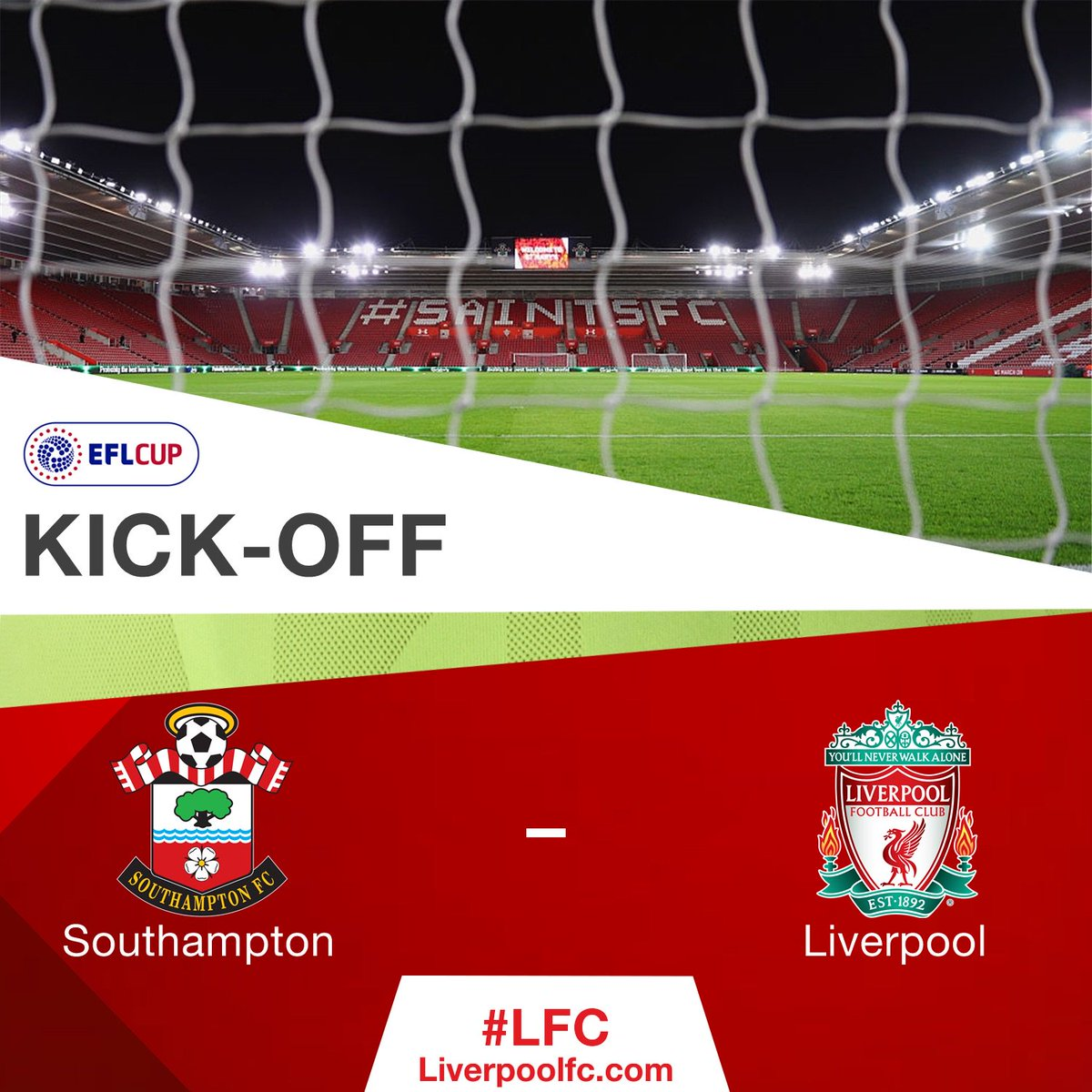 Here we go...  [0-0] #SOULIV https://t.co/qAQDOSMuxz