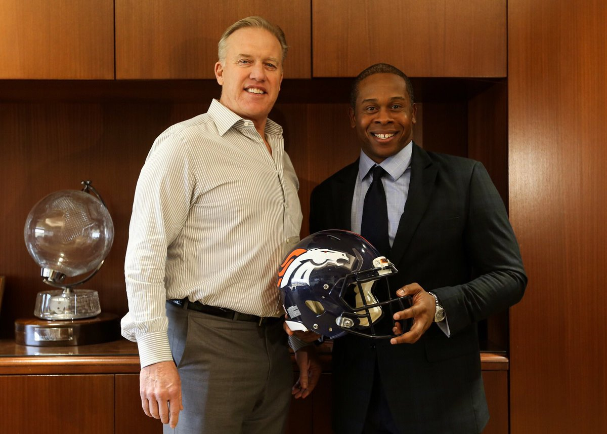 It's official.  Excited to announce Vance Joseph as head coach of the...