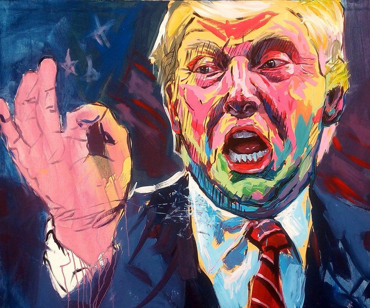 Yah get a portrait... #TrumpPressConference https://t.co/6kRMQONR8J