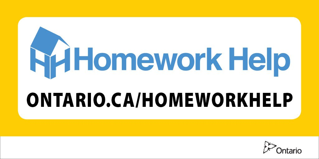 Homework help in ontario