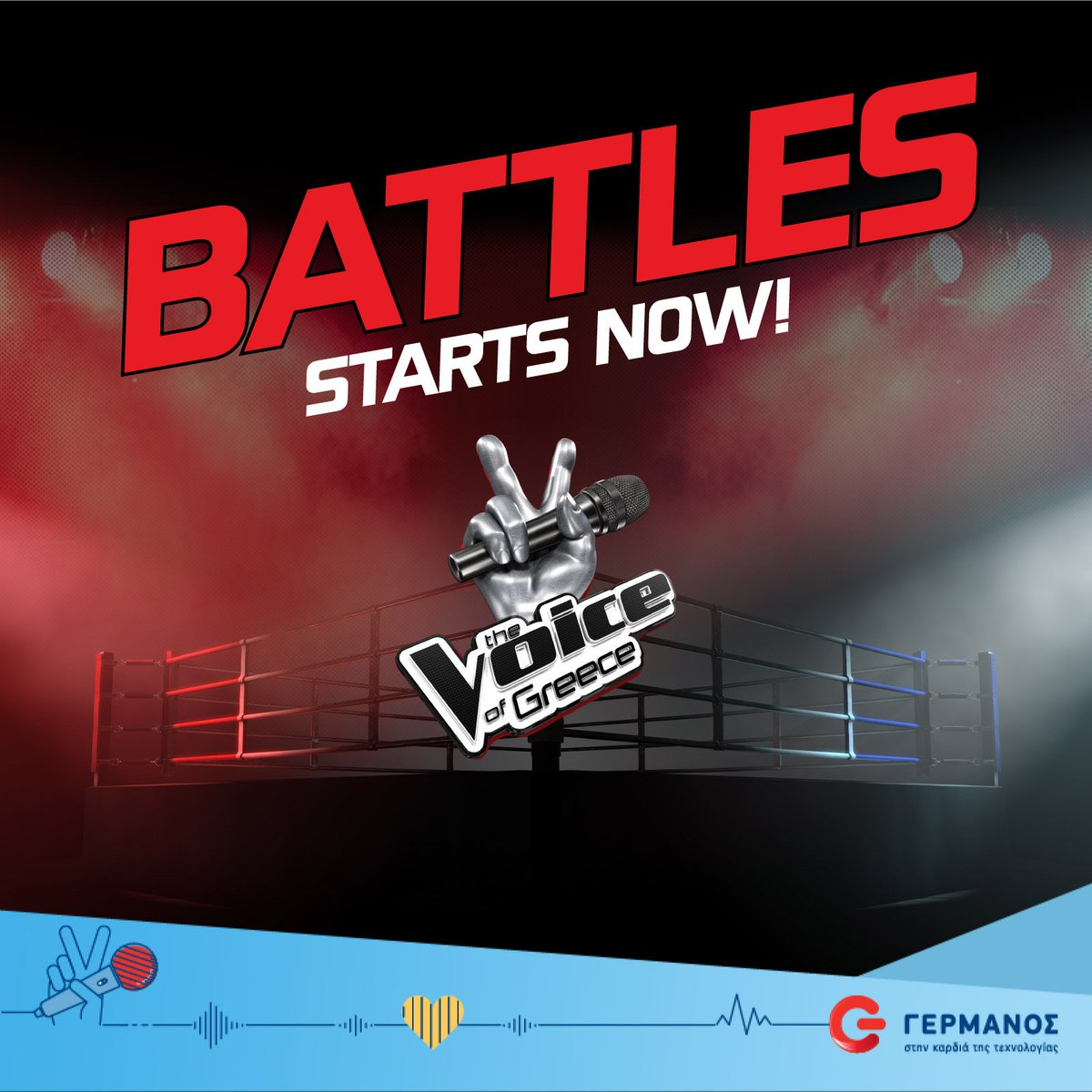 HELLO FIGHTERS!!! 💪 Are you ready to beat the #TheVoiceGR #Battles???...