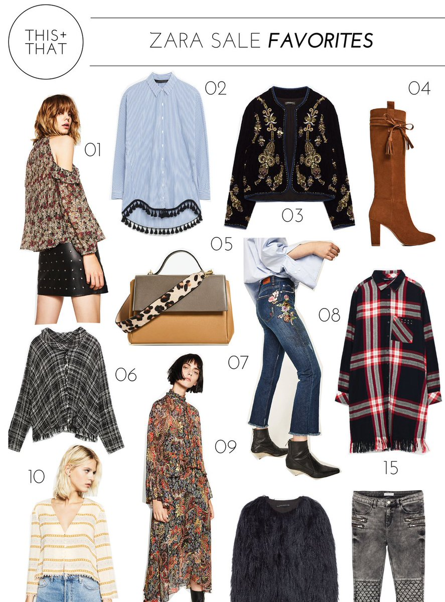 One of my favorite stores is having a major sale! Check out my favorite items here:  http://www. thisandthat-blog.com/blog/2017/1/10 /my-favorite-finds-from-the-zara-sale &nbsp; …  #sale #zara #zarasale <br>http://pic.twitter.com/EvuIeu9ijD