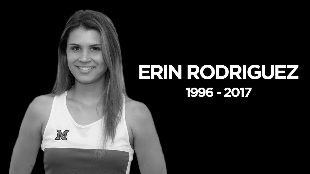 Miami Athletics Mourns Loss of Student-Athlete Erin Rodriguez  https://t.co/RZnCvpExPS https://t.co/R63V6YBMGu