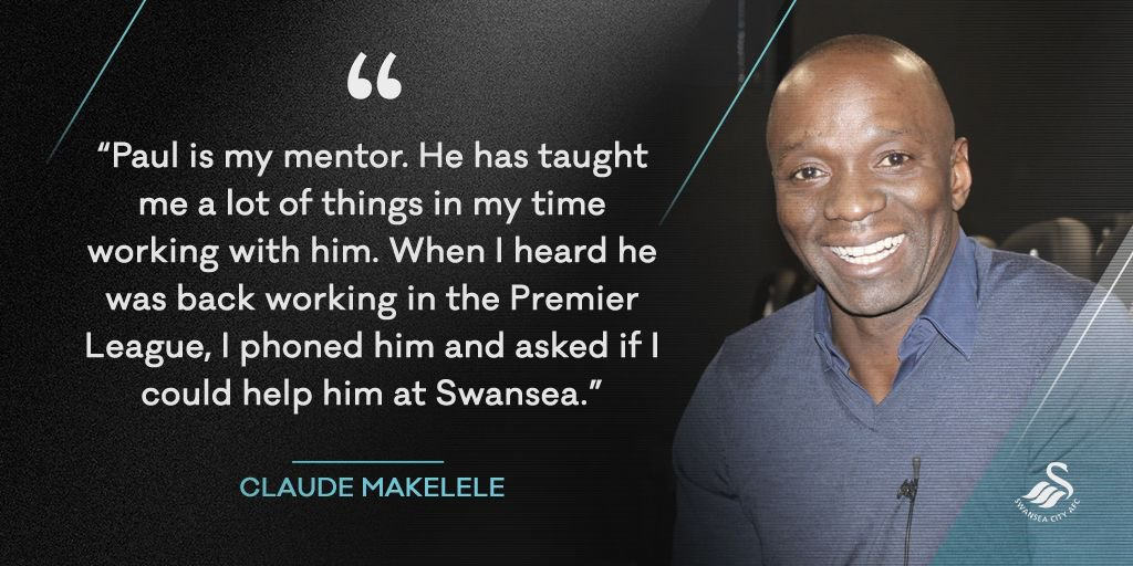 🗣 Claude Makelele on re-uniting with Paul Clement... https://t.co/bSP6...