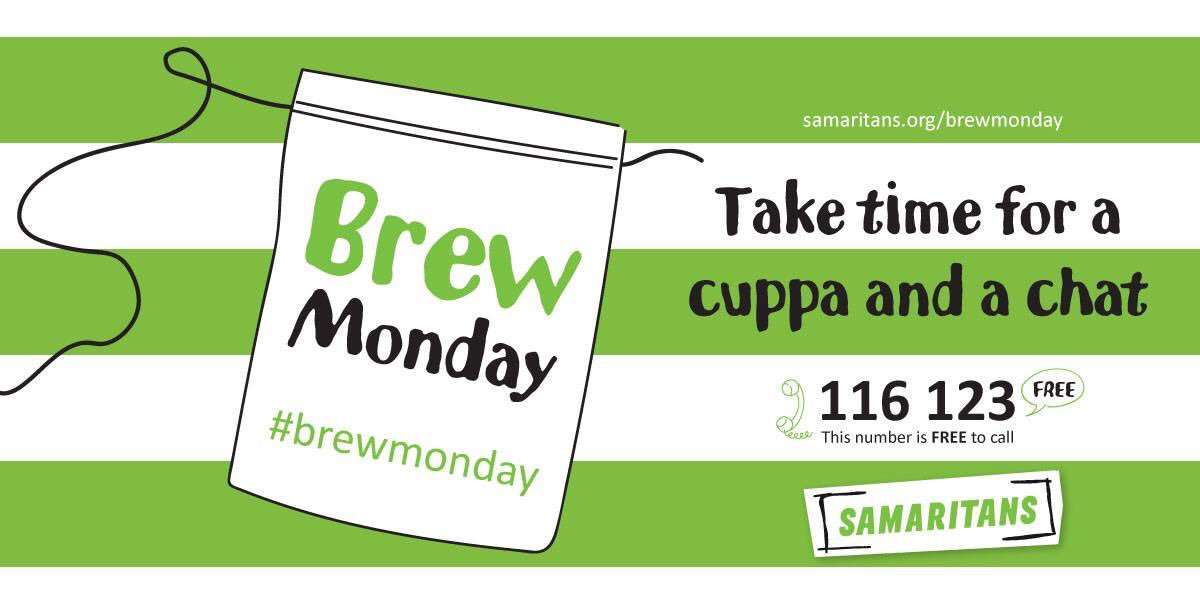 Make #BlueMonday a #BrewMonday  grab a friend, stick the kettle on &amp; check in with each other #southport #notalone <br>http://pic.twitter.com/aQSwsrti10
