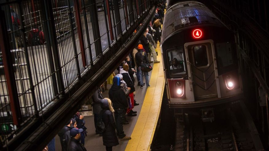 Angry NYC subway rider pulls gun on worker over bad service