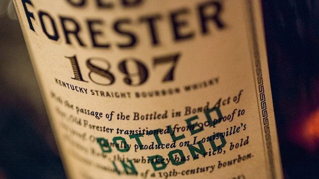 The real reason you see 'bottled in bond' on American whiskey bottles...