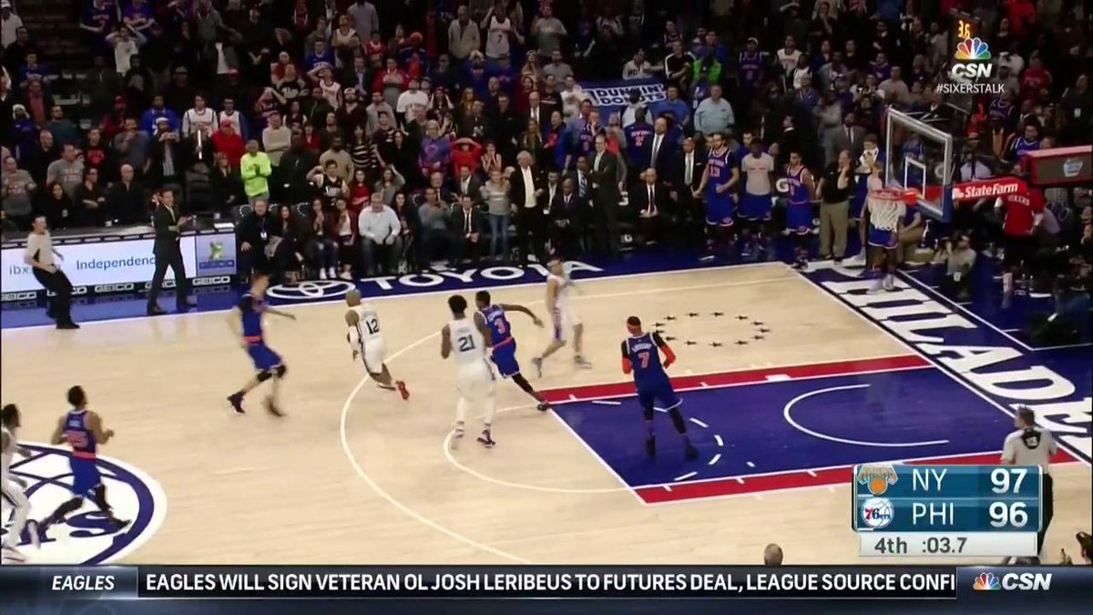 T.J. McConnell hits the game winner! #SixersTalk https://t.co/J2gB5ASw2w