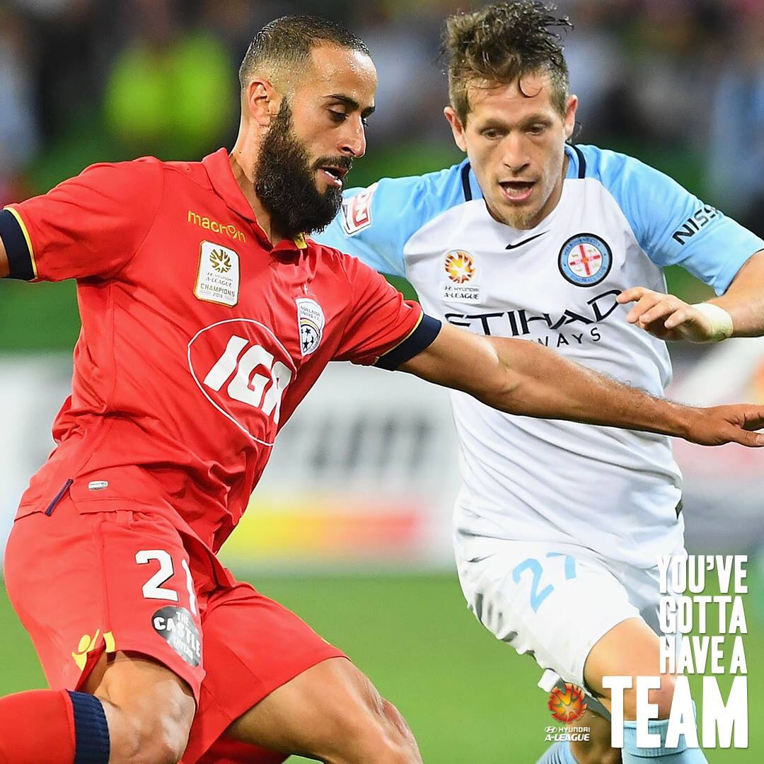 GAME DAY! ⚽️ #ADLvMCY ⏰ 7:20pm local time, 7:50pm AEDT 📺 @FOXFOOTBALL...