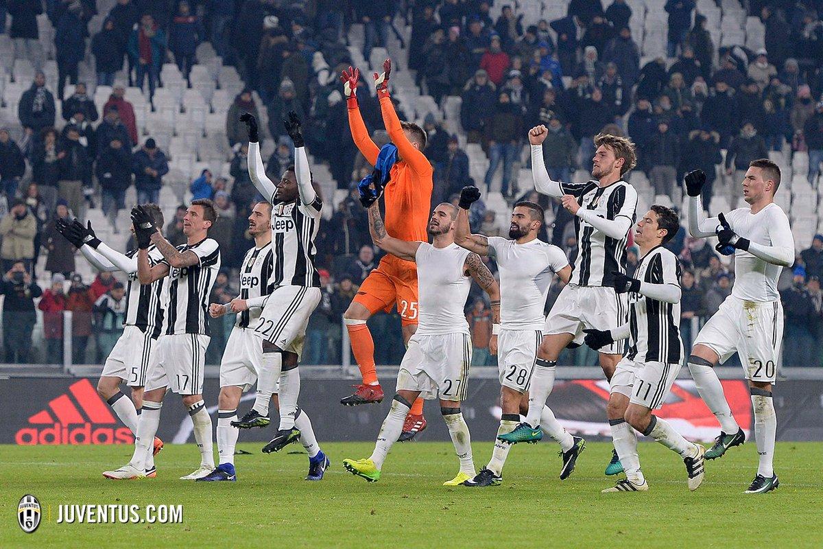 Buonanotte, Bianconeri! 😍🔝💪 #JuveAtalanta ⚪️⚫️ #FinoAllaFine https://t...