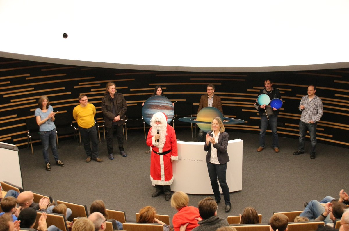 Santa Claus needed help due to #climate change on Earth. There fore he asked @HdAstro to find a new home for him  http://www. space-awareness.org/en/news/german y-help-ice-north-pole-melting/ &nbsp; … <br>http://pic.twitter.com/VuUOPRDaYA