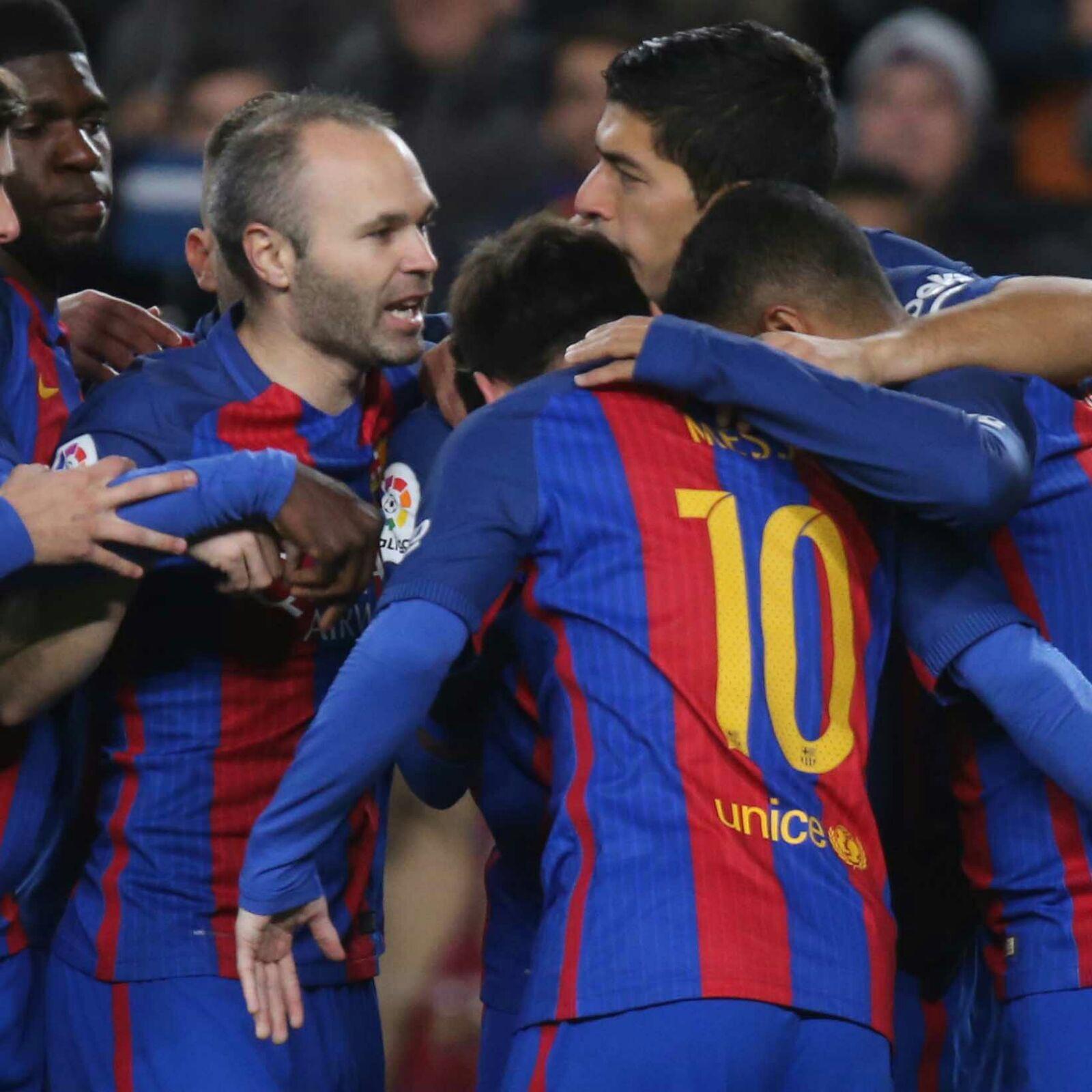 Objetivo cumplido y sensacional esfuerzo equipo y afición! Força Barça!! https://t.co/hezwQtMWiG