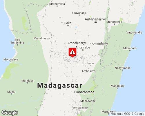 Tremblement de terre #séisme magnitude 5,5 - 52,9 km de #Antsirabé - #Madagascar #TremblementDeTerre  http:// sismique.zone/2017/01/11/22: 06:59-150 &nbsp; … <br>http://pic.twitter.com/7i8xJFTZSH