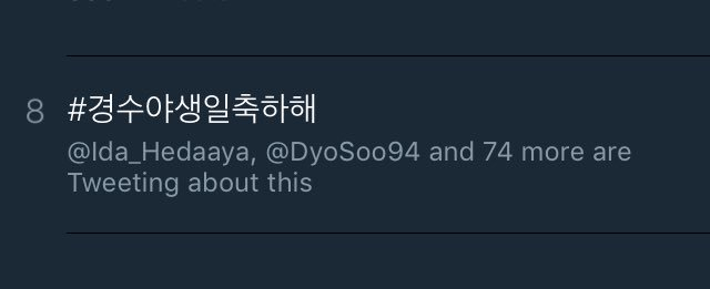 #경수야생일축하해 trending in Malaysia !! #HappyBirthdayKyungsoo #HappyDODay #HappyKyoungSooDay #HappyKyungsooDay #HappyDyoDay<br>http://pic.twitter.com/AzPE8tTFd2