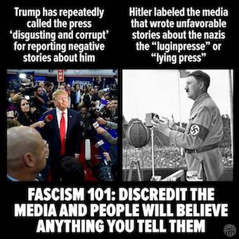 #FascistTrump shouted &quot;fake news&quot; at @CNN @Acosta  today without even taking the question!   #THISISNOTNORMAL  https:// thinkprogress.org/cnn-fake-breit bart-real-b507c0a2f21a#.ald9mlnok &nbsp; … <br>http://pic.twitter.com/XyNYDRVhhj