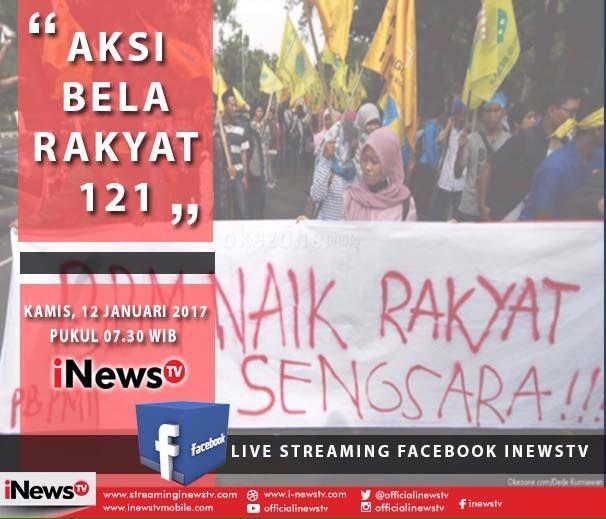 Seperti apa jalannya #AksiBelaRakyat121 hari ini? Streaming di https:/...