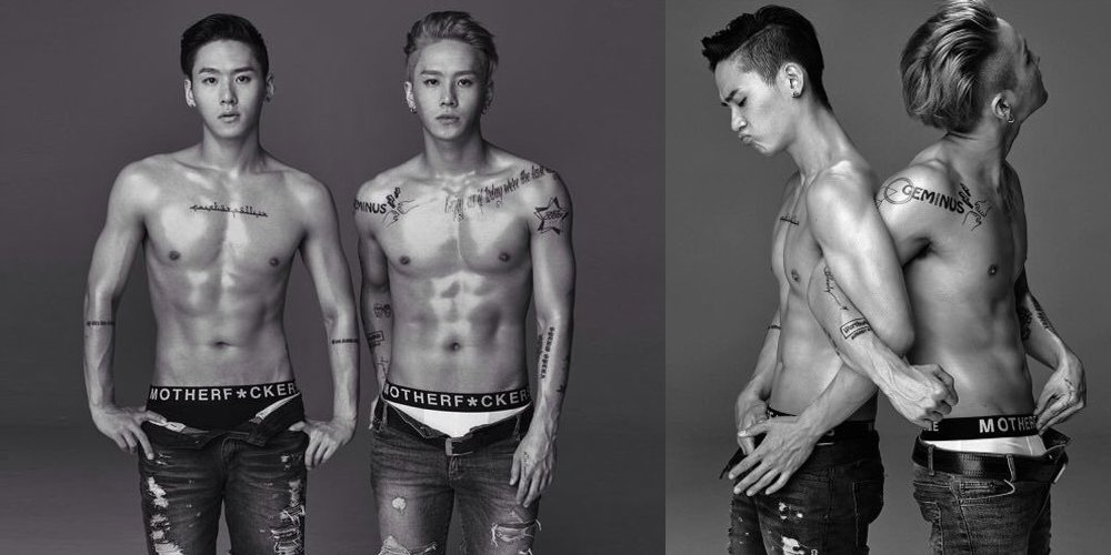 Netizens think attractive twin backdancers from YG should debut as cel...