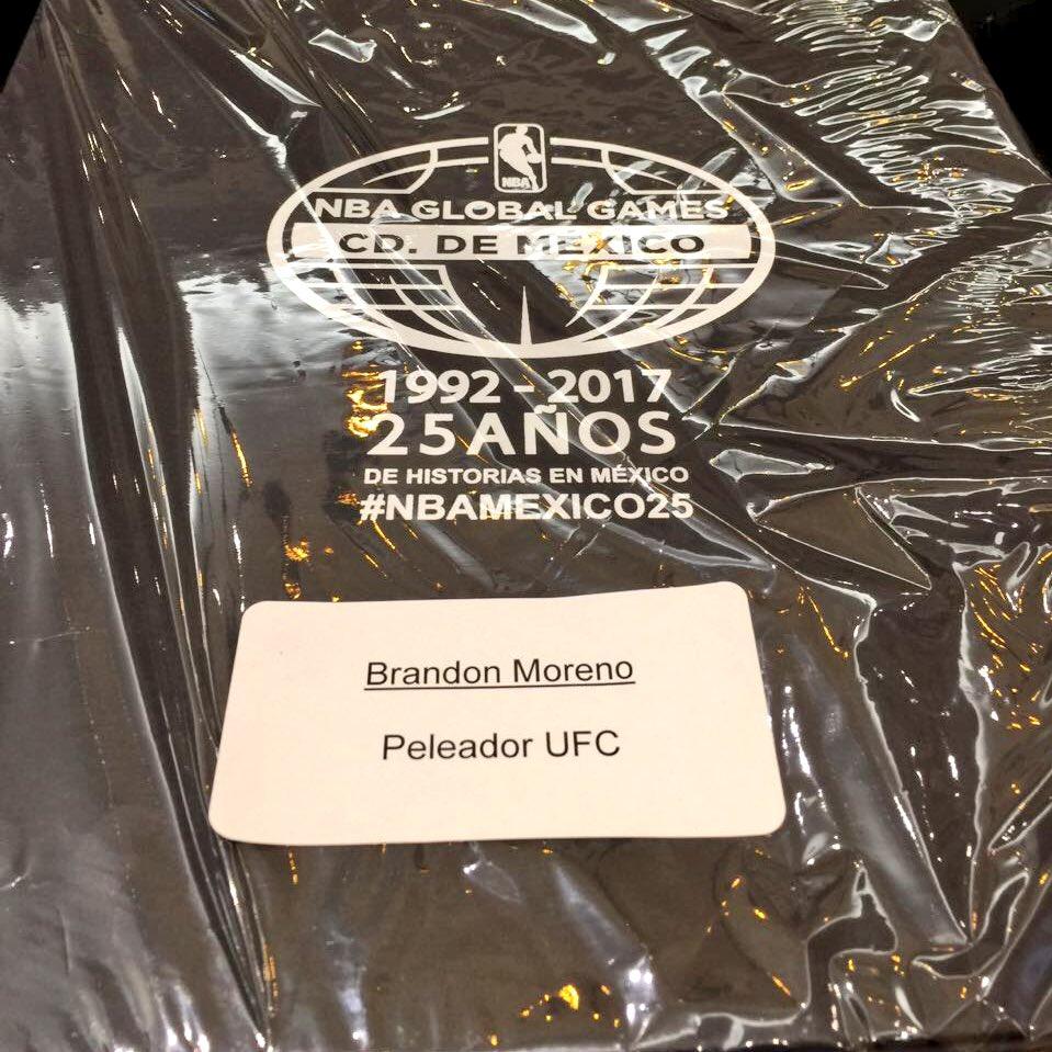 Si van #NBAMexico25 saluden a @theassassinbaby quien andará ahí invitado por @NBAMEX al juego de @Suns vs @spurs https://t.co/KIBoyhICea