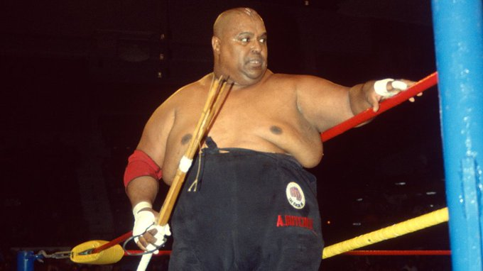 Happy Birthday to WWE Hall of Famer and hardcore legend Abdullah the Butcher who turns 75 today!