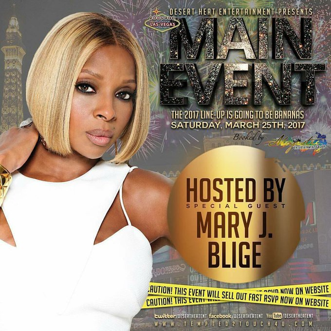 Happy Birthday Tempted2Touch 2017! Special Guest Host will be The Queen of Hip Hop Soul, Mary J. Blige!