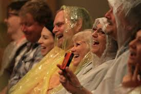 The front rows at the inauguration better be prepared. #GoldenShowers