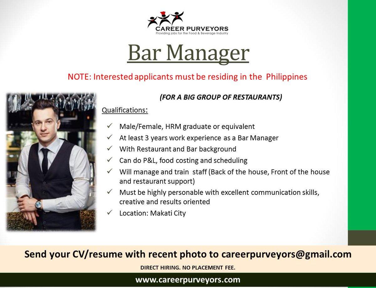 bar manager job description resume resume for assistant manager bar manager job description resume career purveyors careerpurveyors twitter replies retweets likes