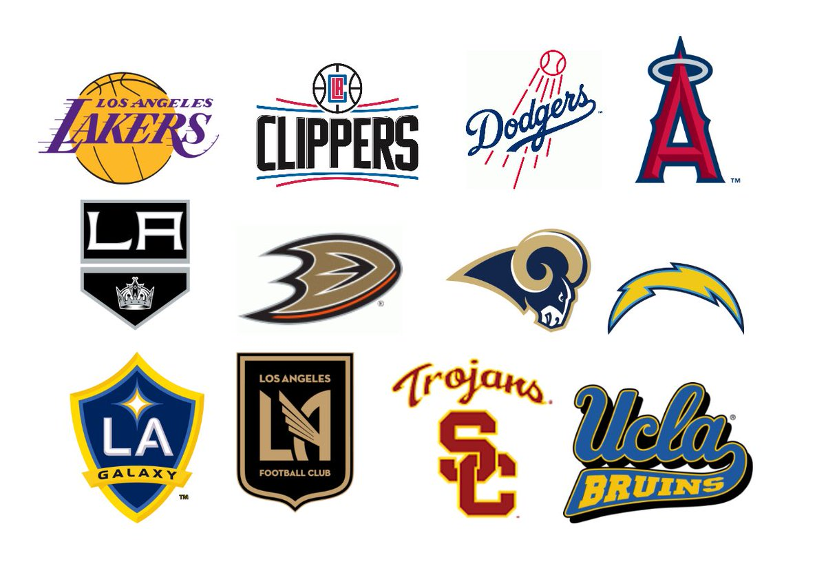 Image result for la sports teams logos