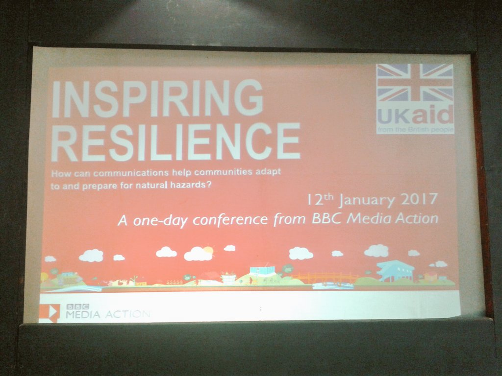 Effective comms around resilience, sharing &amp; learning #gobeshona3 additional day- Inspiring resilience @SaleemulHuq @bbcmediaaction<br>http://pic.twitter.com/YIXoX9uIGl