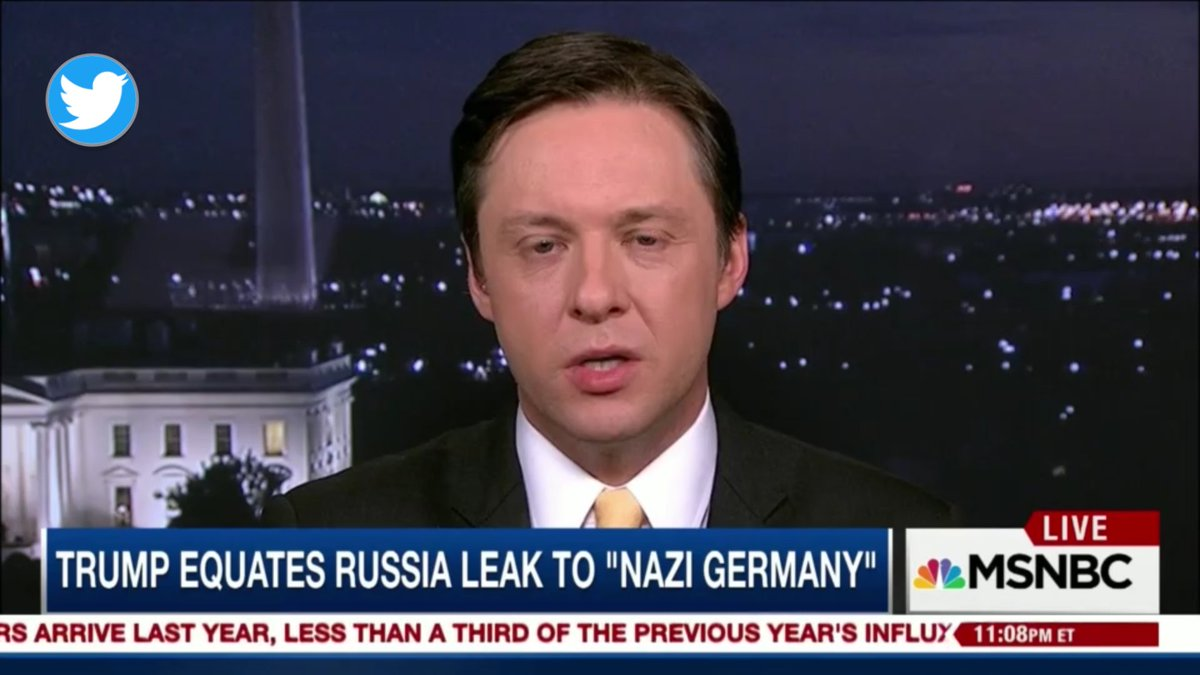 LIBERAL @politico SPOX gets &quot;HeeBeeJeebies&quot; when the #PEOTUS talks abt Nazis,but apparently it doesn&#39;t bother them to call the PEOTUS a Nazi <br>http://pic.twitter.com/ke89LEiYSS