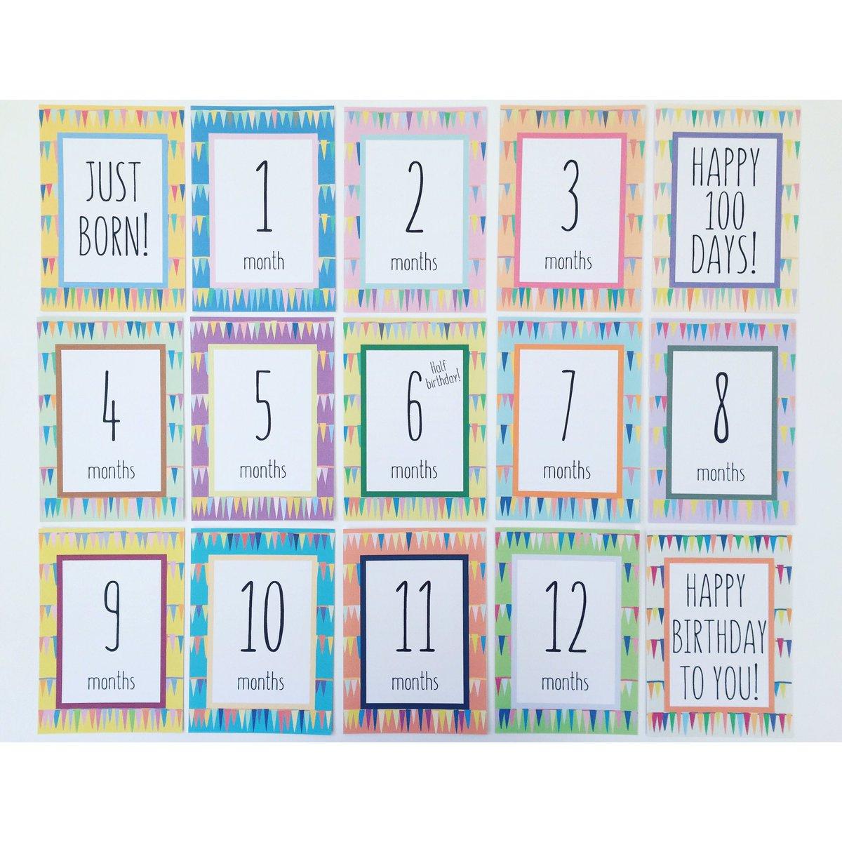 カード 手作り マンスリー インスタで話題!「月齢カード」の簡単な作り方を紹介!おしゃれに赤ちゃんの写真を残そう