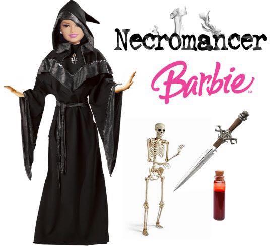 #RuinAToy @midnight Necromancer Barbie https://t.co/yx3Tahqibo