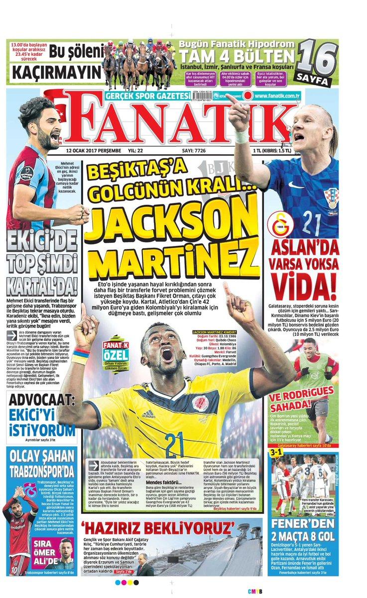 Sporun Manşetleri Gazetelere 1 dakikada göz atın! https://t.co/Ht4Rsti...