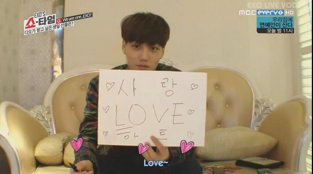 remember when jongin answered that kyungsoo wanted love for his birthday  #HappyDODay #HappyKyungsooDay<br>http://pic.twitter.com/lXf3i46a5T