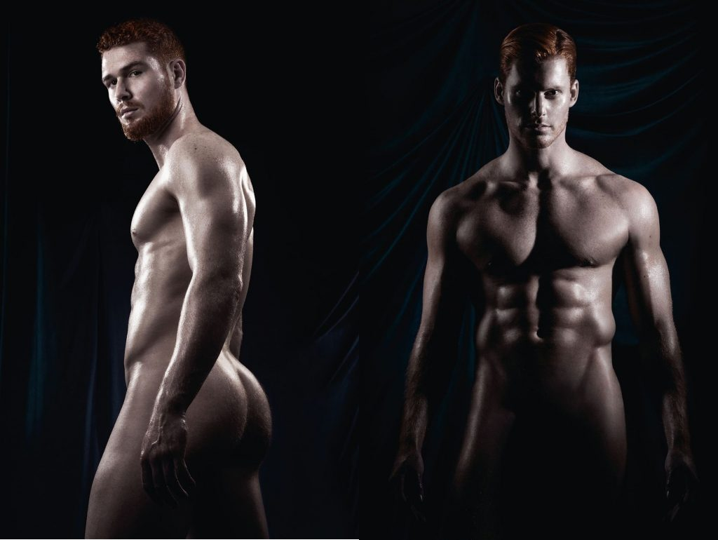 Celebrate International #KissAGingerDay with the too-hot-for-Facebook...