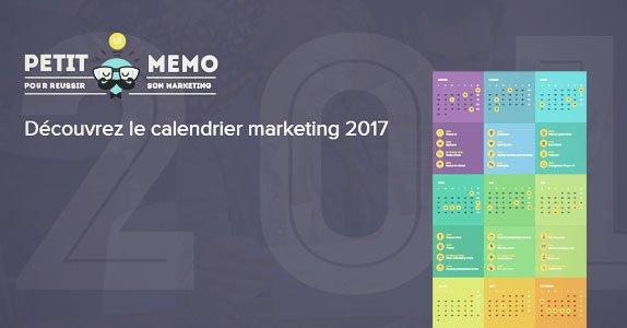 Le #calendrier marketing de 2017 dédié aux communicants  http:// marketing-et-communication.fr/calendrier-mar keting-2017/ &nbsp; …  @sarbacanesoft #marketing #communication #agenda #memo #year <br>http://pic.twitter.com/RcspDiiXre