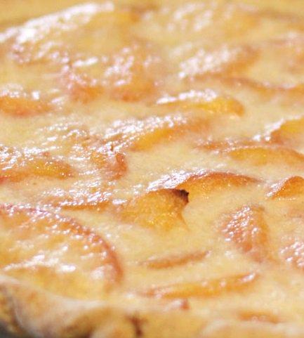 Peaches and Cream Pie