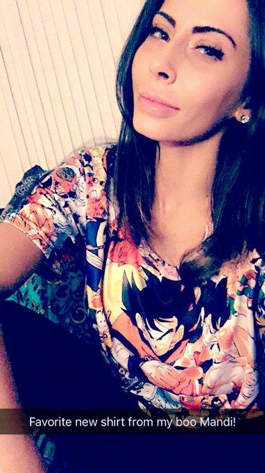 ❤️💛❤️ my sick new shirt from my girl Mandi #DragonBall is #Life https://t.co/vWmeSLQVln
