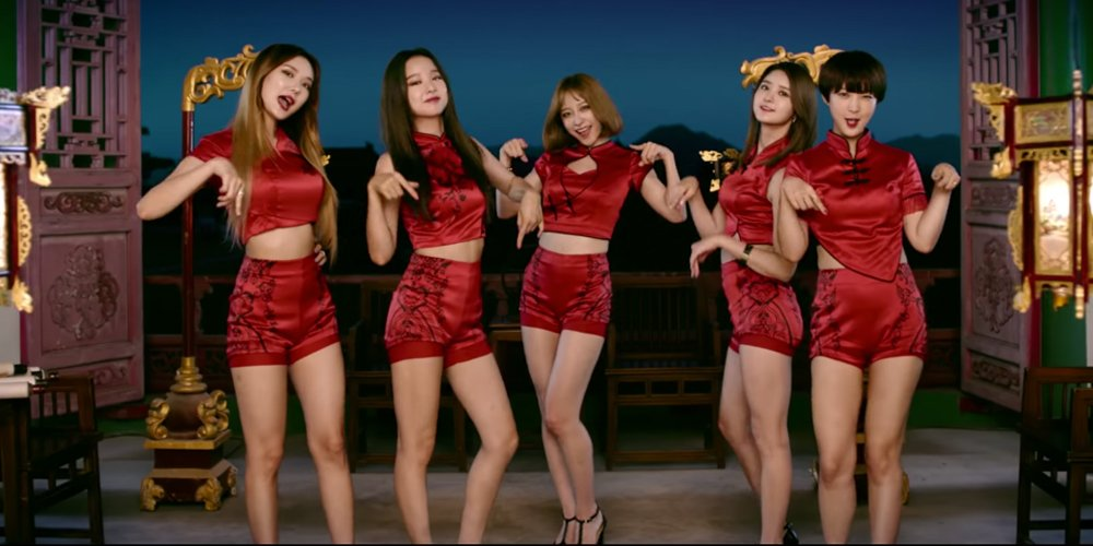 EXID re-uploads Chinese version MV of 'Up & Down' after editing ou...