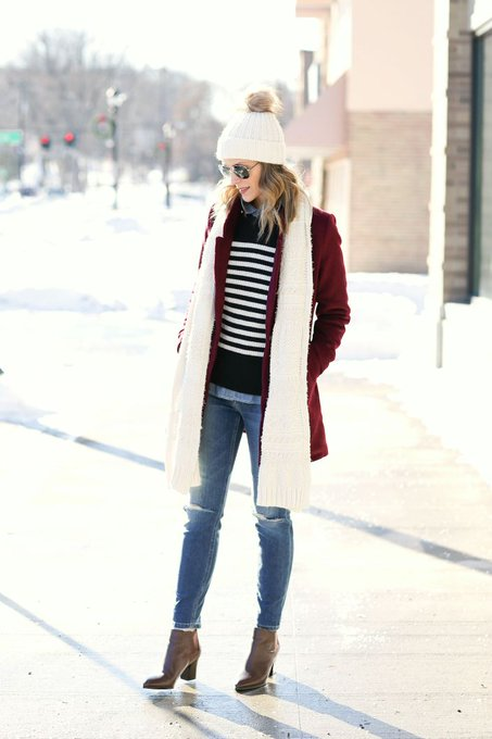 Bundled-Up Stripes