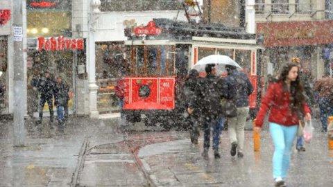 İstanbul ve Ankara'ya yoğun kar yağışı uyarısı https://t.co/3mSmBjXwM4...