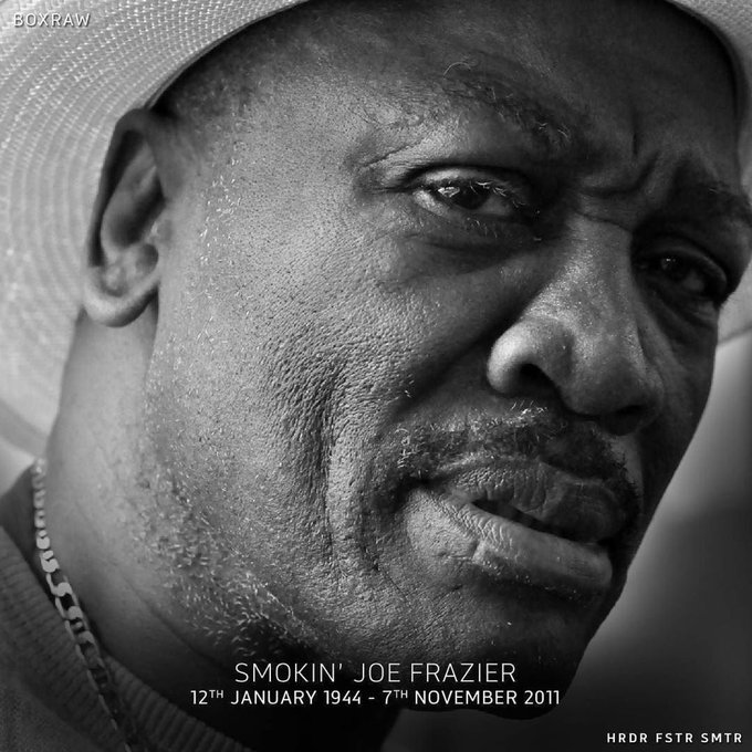 Happy Birthday to the late, Joe Frazier. A man who tore it up with the best in very tough