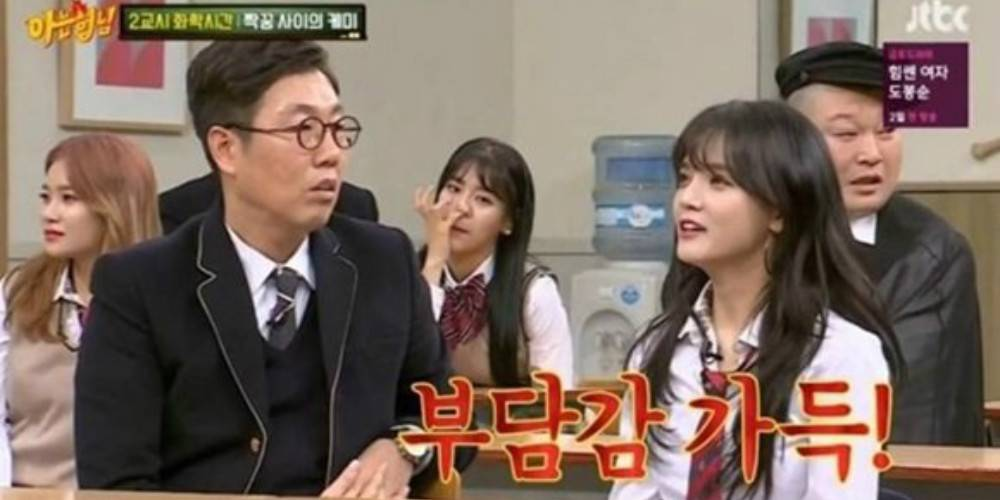 Did AOA's Hyejeong really get caught picking her nose on 'A Hyung I Kn...