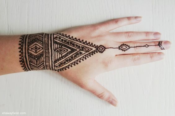 Infosiana On Twitter 1001 Gambar Dan Motif Henna Tangan Simple