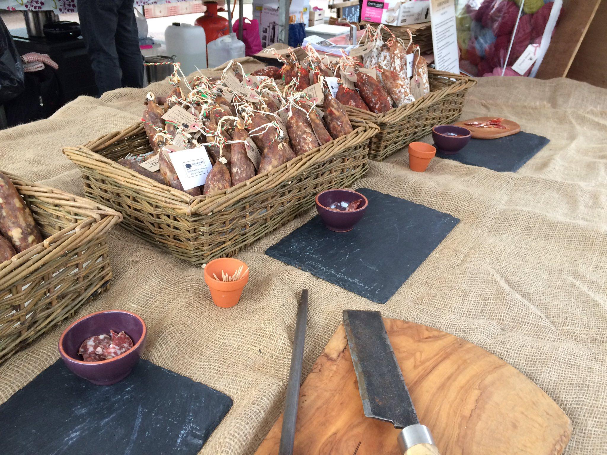 Shropshire Salumi Ludlow Market