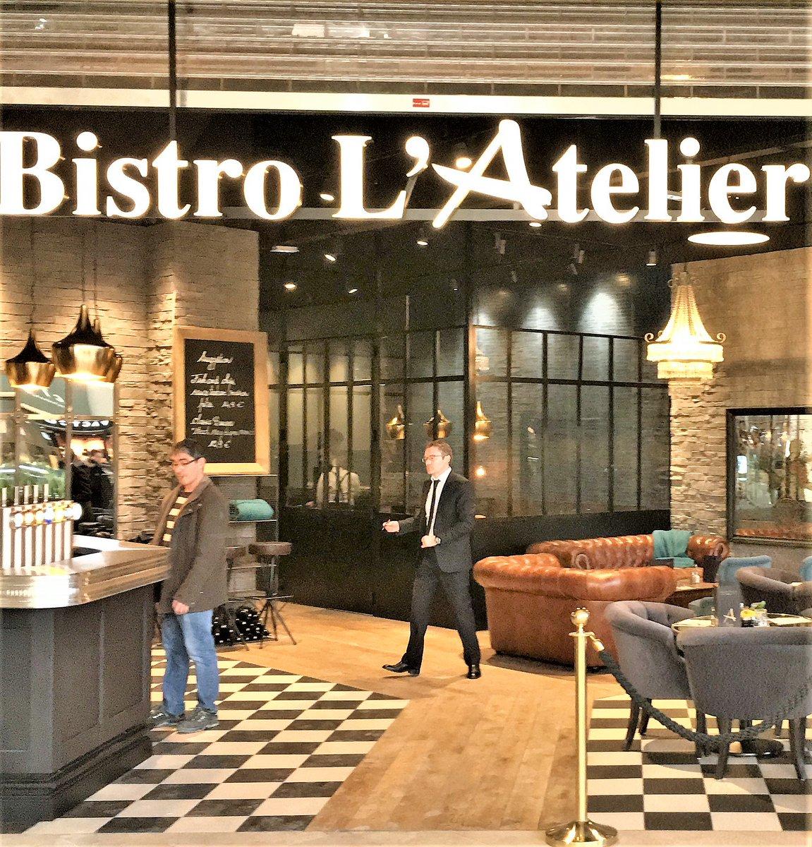 Le Bistro L&#39;Atelier est un nouveau restaurant qui vient d&#39;ouvrir @Les4Temps ! #fish&amp;chips #burgers #dessert<br>http://pic.twitter.com/FBlGwxVDDx