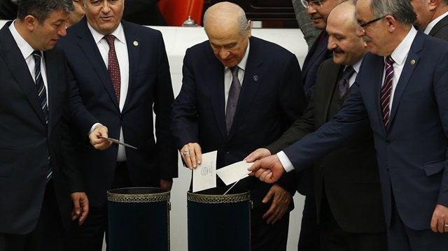 Devlet Bahçeli: Değişim Meclis'ten geçmezse parlamento yenilenmeli htt...