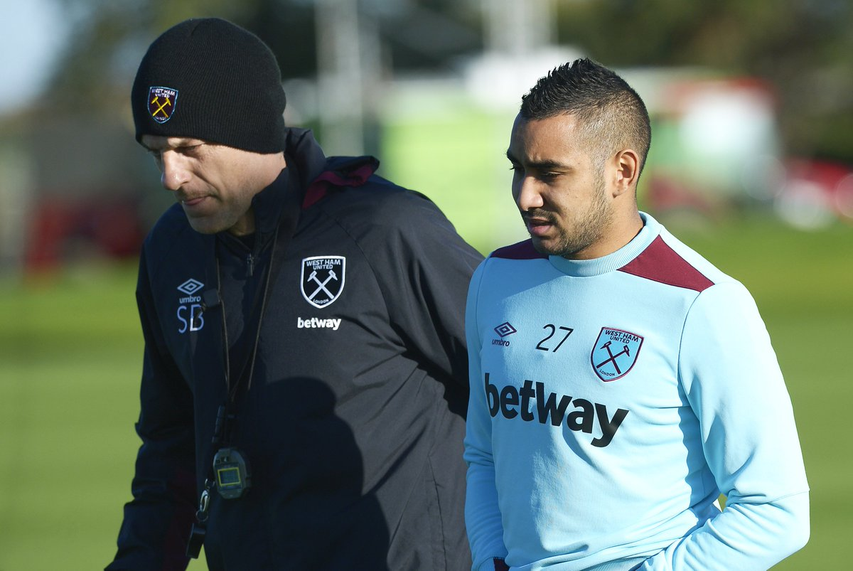 BREAKING: Slaven Bilic says Dimitri Payet does not want to play for We...