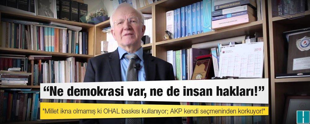 'Millet ikna olmamış ki OHAL baskısı kullanıyor; AKP kendi seçmeninden...